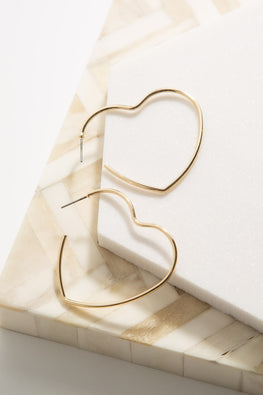 Type 1 Hearts Wide Open Earrings