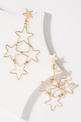 Type 1 Star Shower Earrings