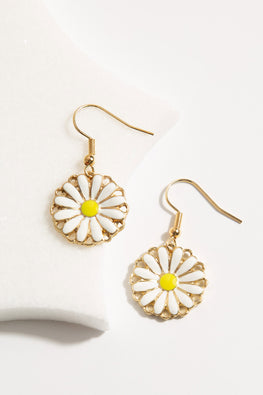 Type 1 Dainty Daisy Earrings