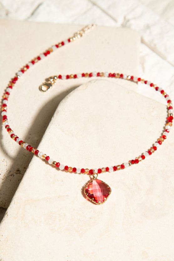 Type 1 You Red My Mind Necklace