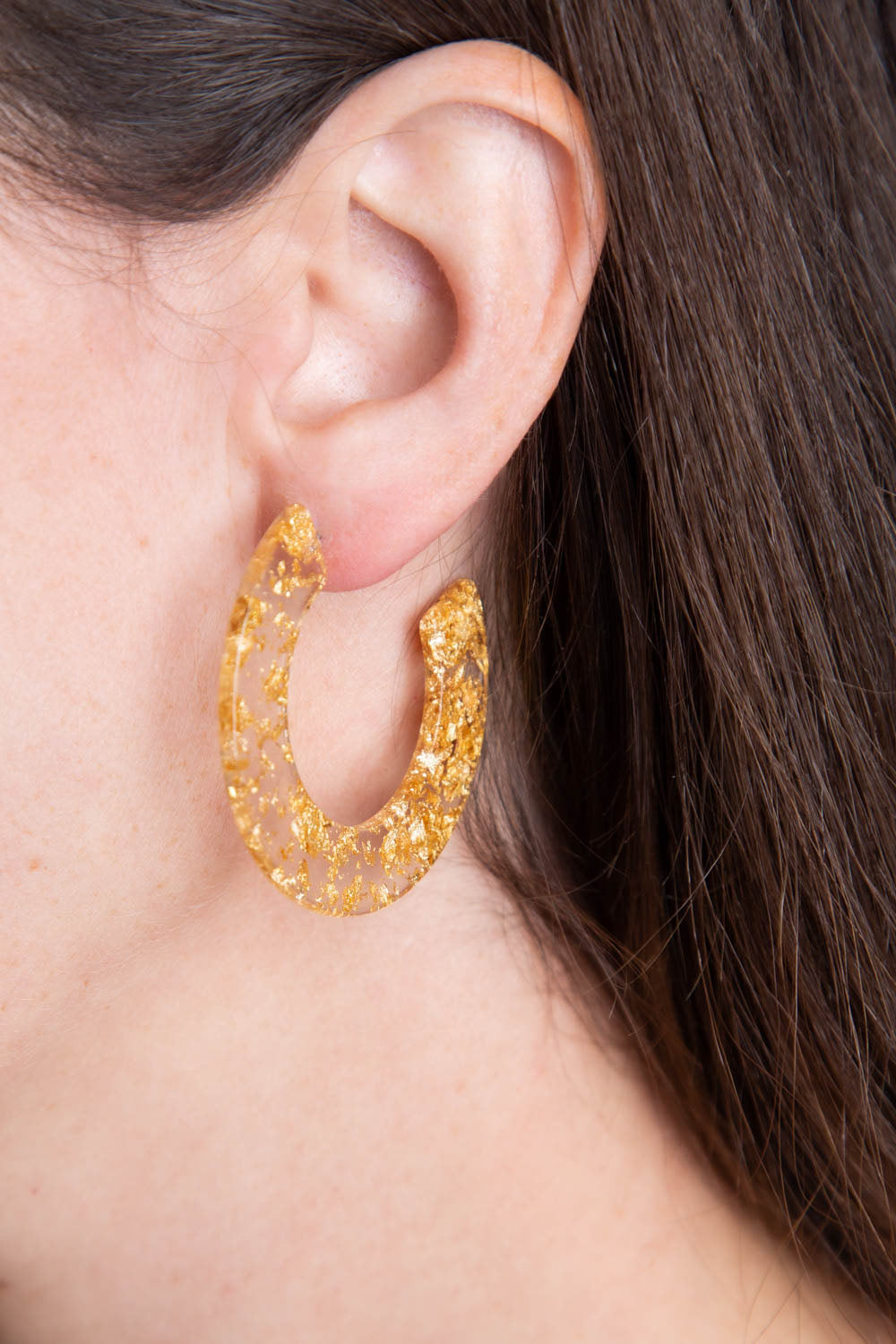 Type 1 Gold Confetti Earrings