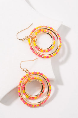 Type 1 Pink Lemonade Earrings