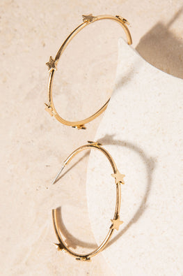 Type 1 Hopeful Hoops Earrings