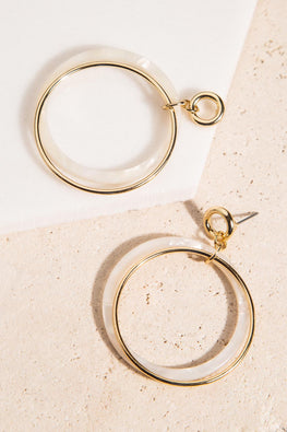 Type 1 Peace, Hoop & Love Earrings