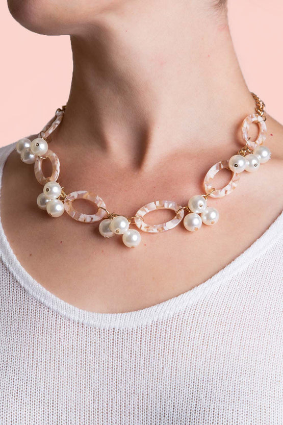 Type 1 A Whirl Of Pearls Necklace
