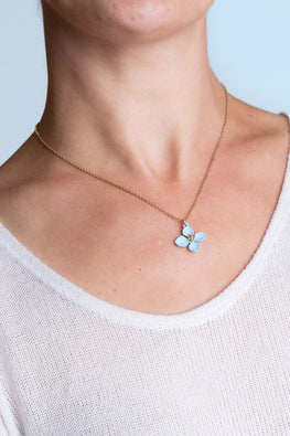 Type 1 Periwinkle Twinkle Necklace