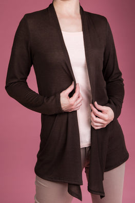 Type 2 Chocolate Warm Cardigan