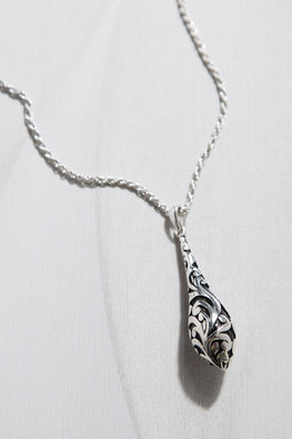 Type 2 Filigree Drop Necklace