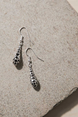 Type 2 Filigree Drop Earrings