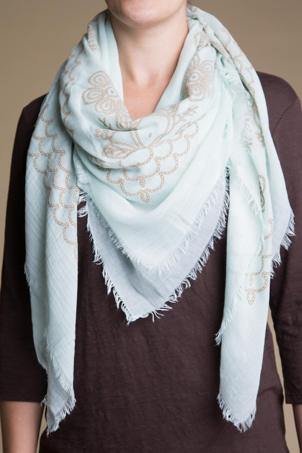 Type 2 Seashore Scarf