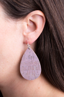 Type 2 Cocoa & Cork Earrings