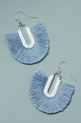 Type 2 Fan Of Blue Earrings