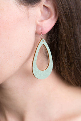 Type 2 Garden Green Earrings