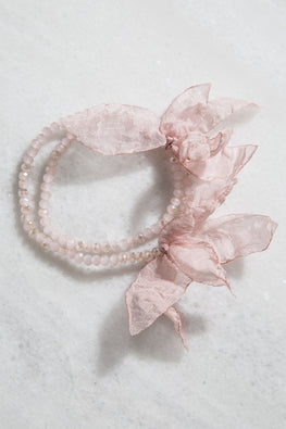 Type 2 Wistful Waves In Pink Bracelet