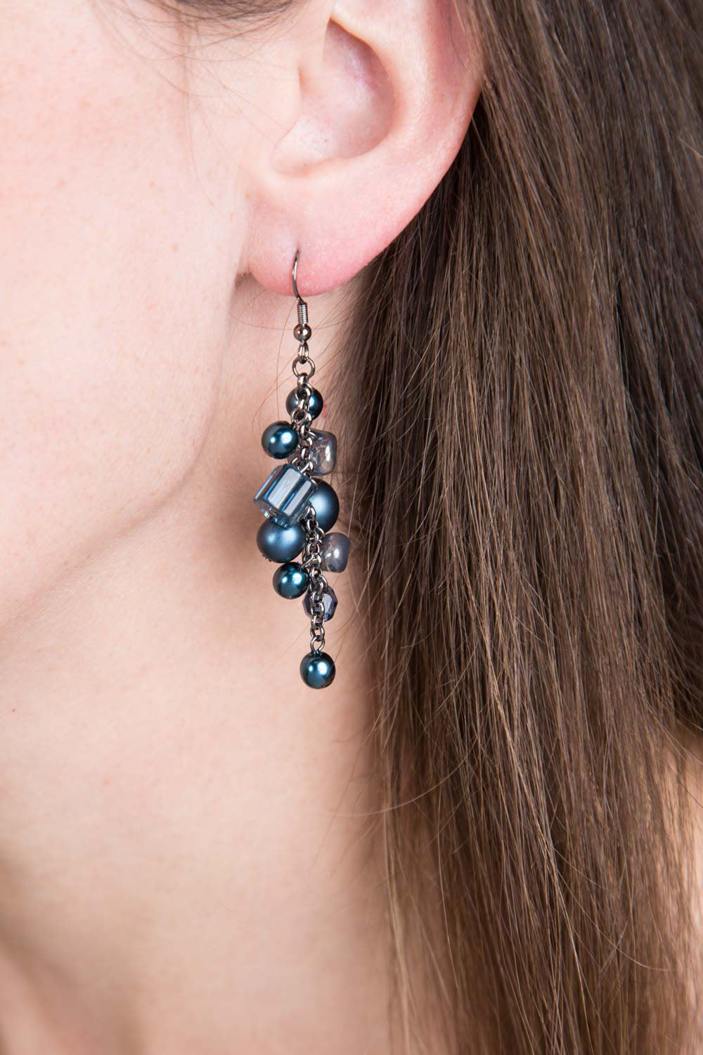 Type 2 Blue Moon Earrings