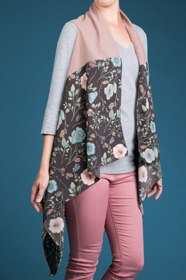 Type 2 Calming Camellias Vest