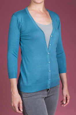 Type 2 Tender Teal Cardigan