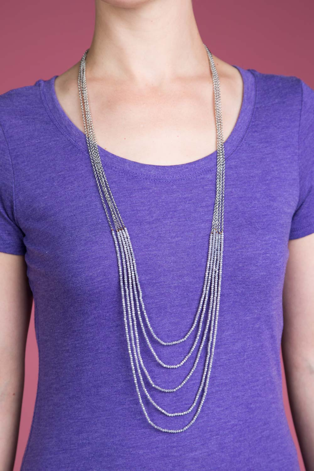 Type 2 Mist Of Lavender Necklace