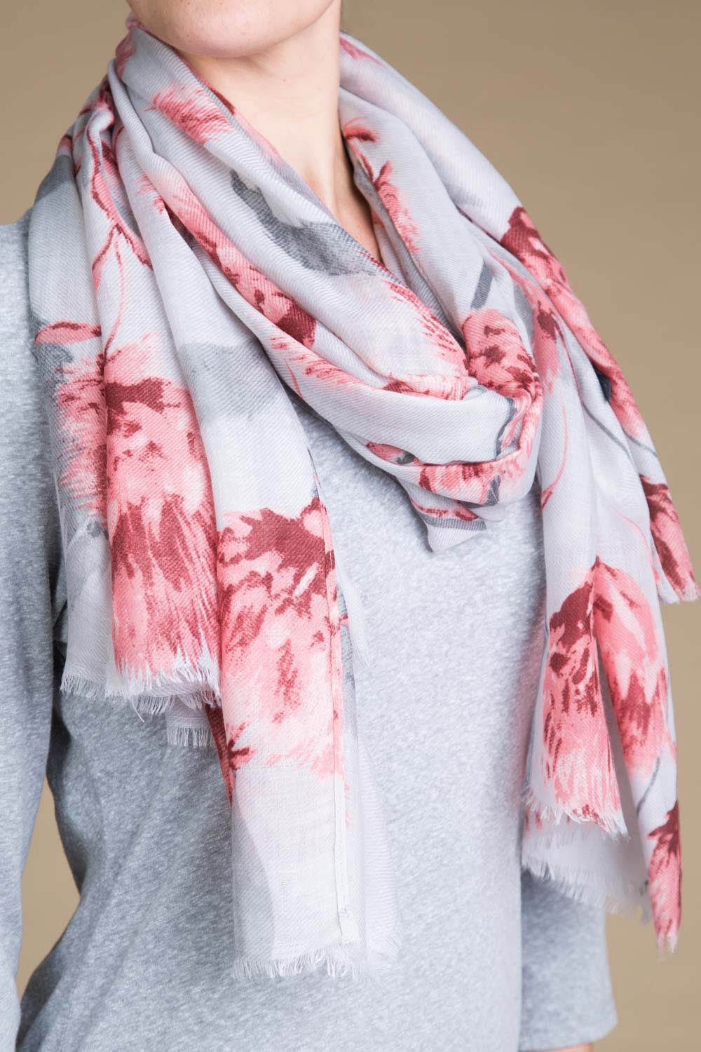 Type 2 Carnation Embrace Scarf