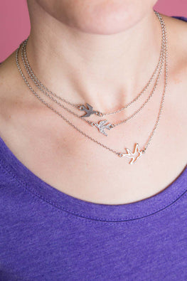 Type 2 Birds Of A Feather Necklace