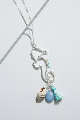 Type 2 Peaceful Seahorse Necklace