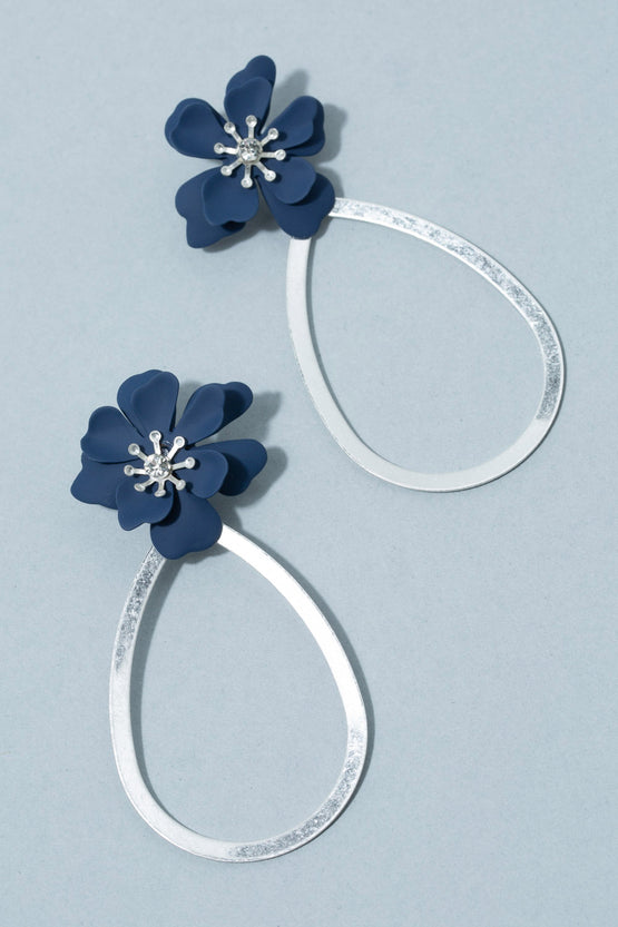 Type 2 Blooms at Midnight Earrings