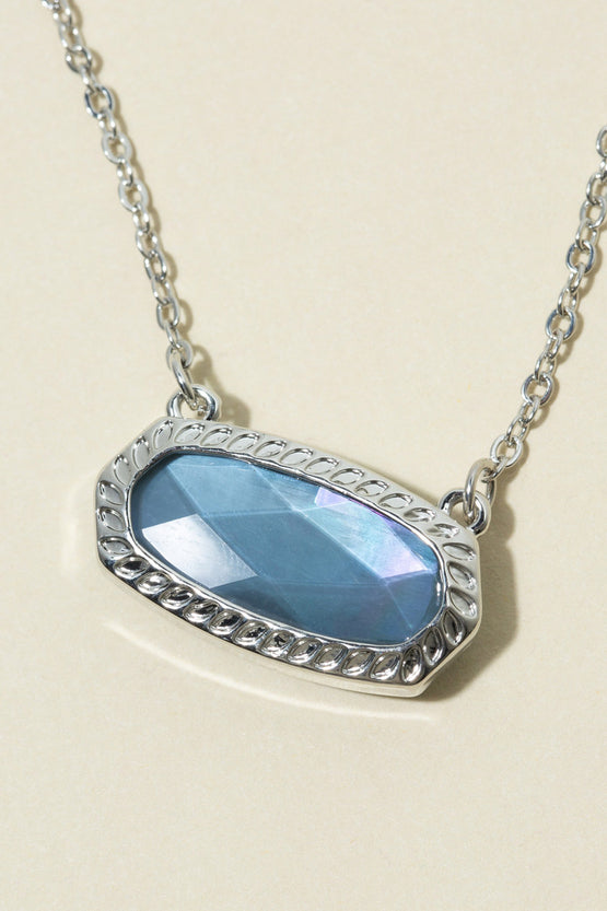 Type 2 Silvery Blue Necklace