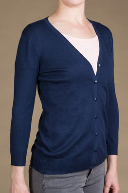 Type 2 Deep Navy Cardigan