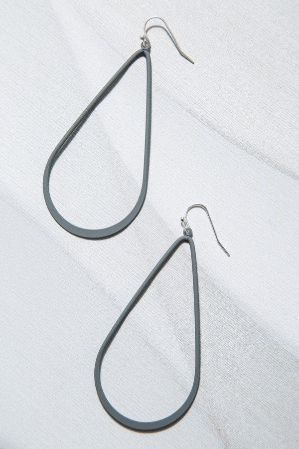 Type 2 Single Tear Earrings