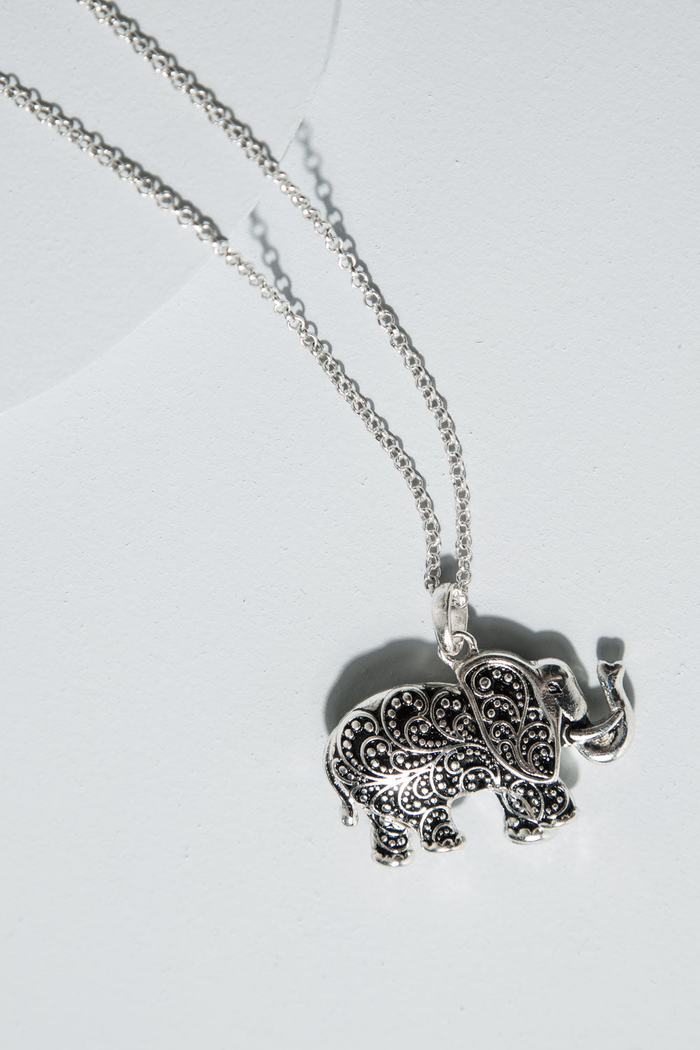 Type 2 Thinking Elephant Necklace