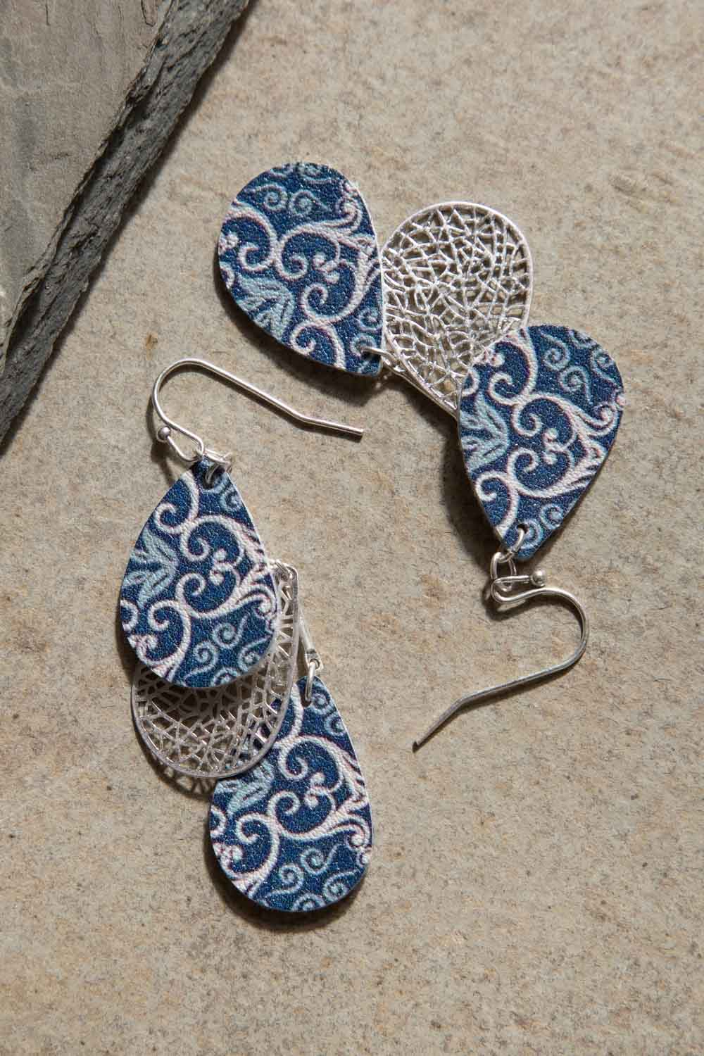 Type 2 Tickets to Lisbon Earrings