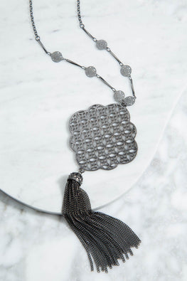 Type 2 Lattice Love Necklace
