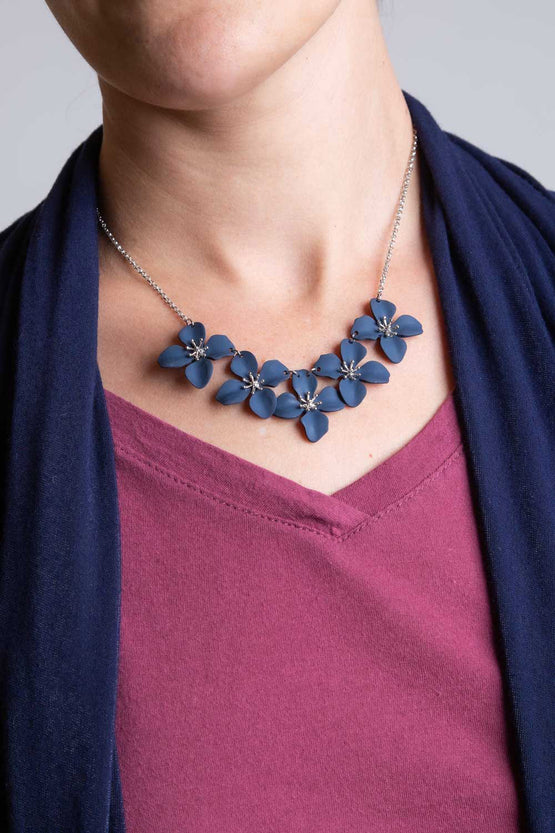 Type 2 Midnight Poppies Necklace