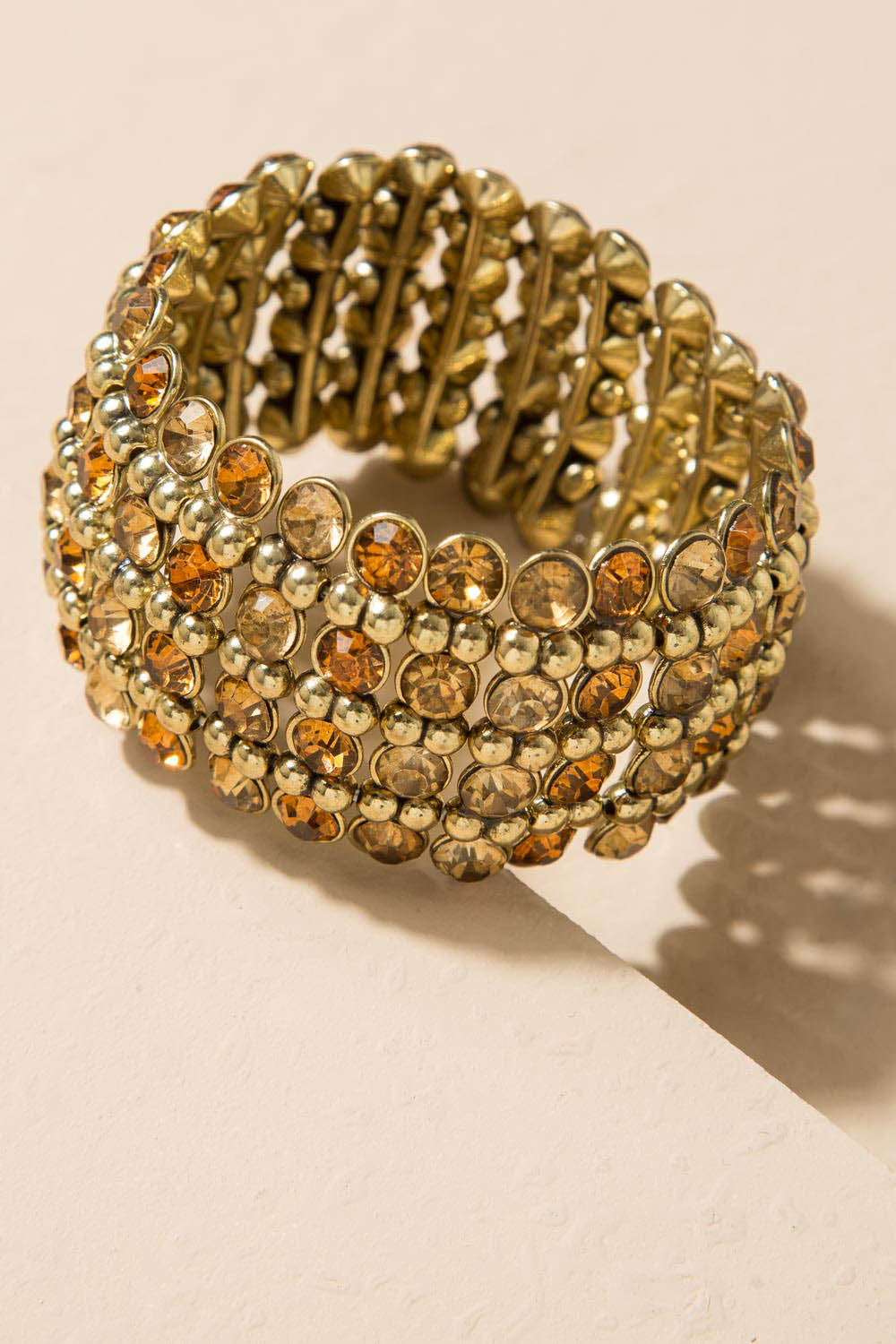 Type 3 Amber and Gold Bracelet