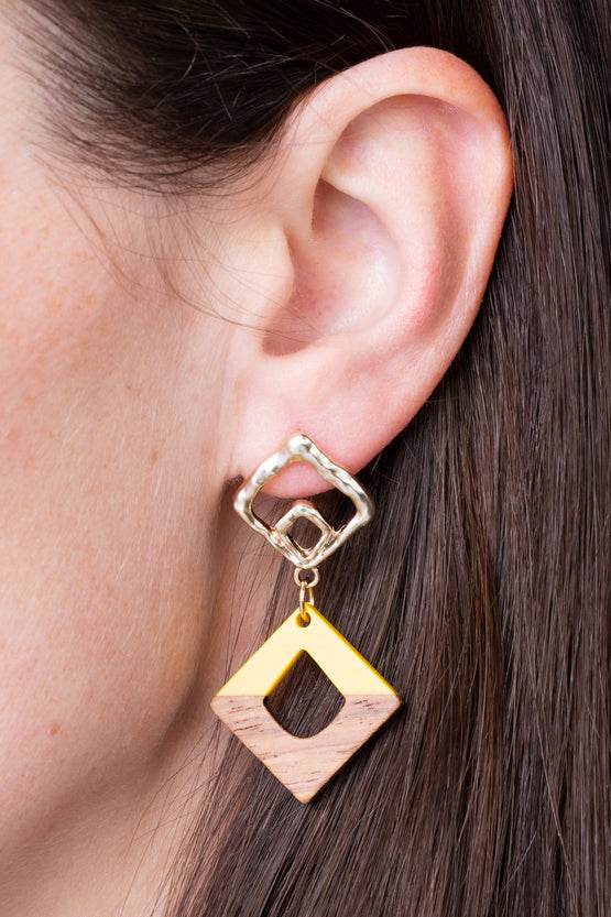 Type 3 Squared Away Earrings