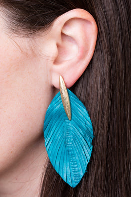 Type 3 Teal Me The Truth Earrings