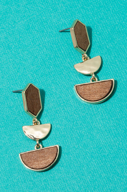 Type 3 Tip the Scales Earrings