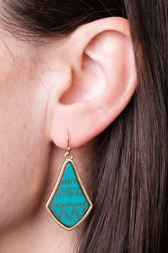Type 3 Saguaro Earrings