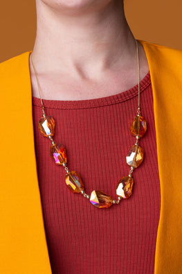 Type 3 Lavish Amber Necklace