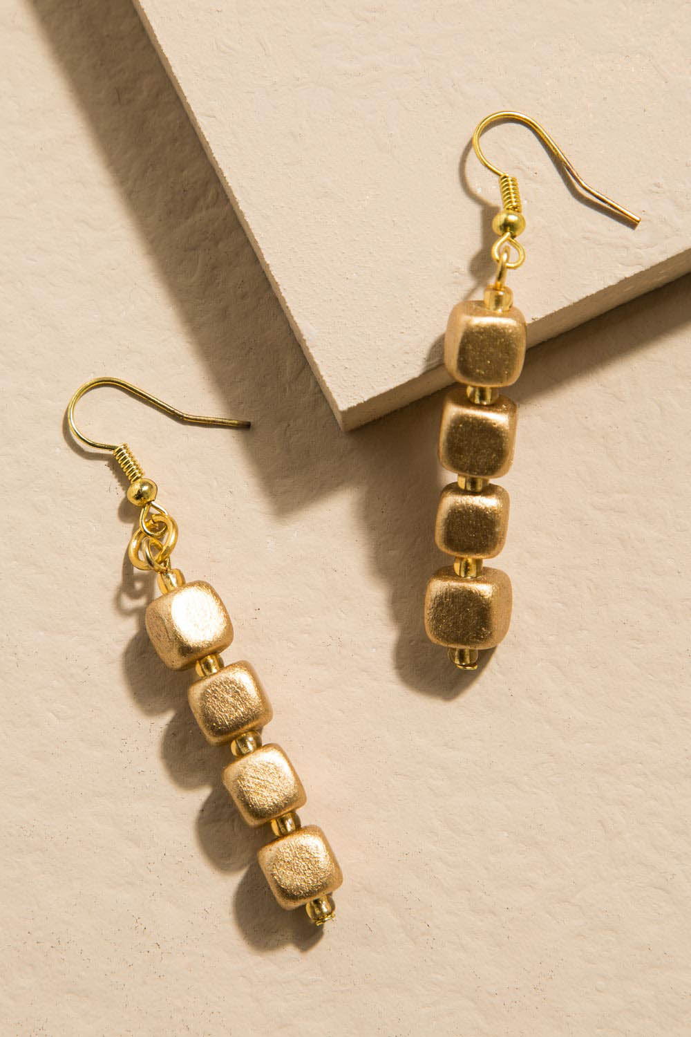 Type 3 The Golden Cube Earrings