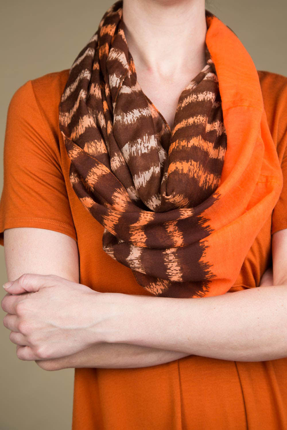 Type 3 Sunset Stripes Scarf