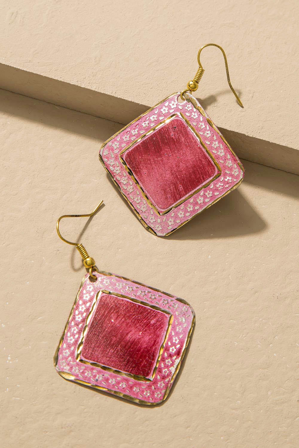 Type 3 Strawberry Ice Earrings