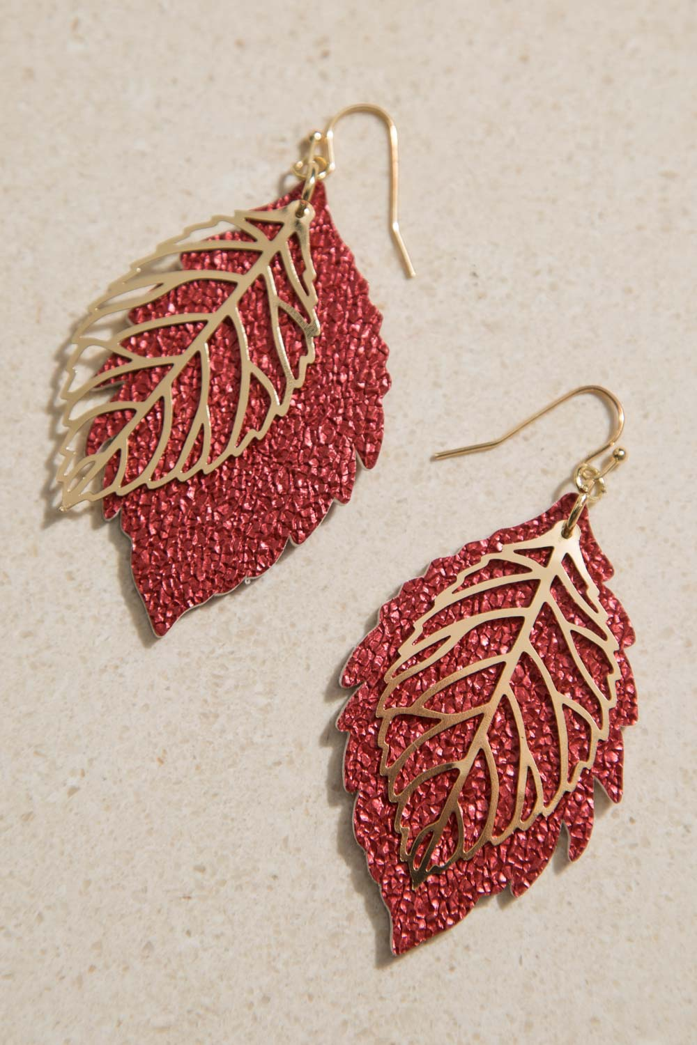 Type 3 Lava Leaf Earrings