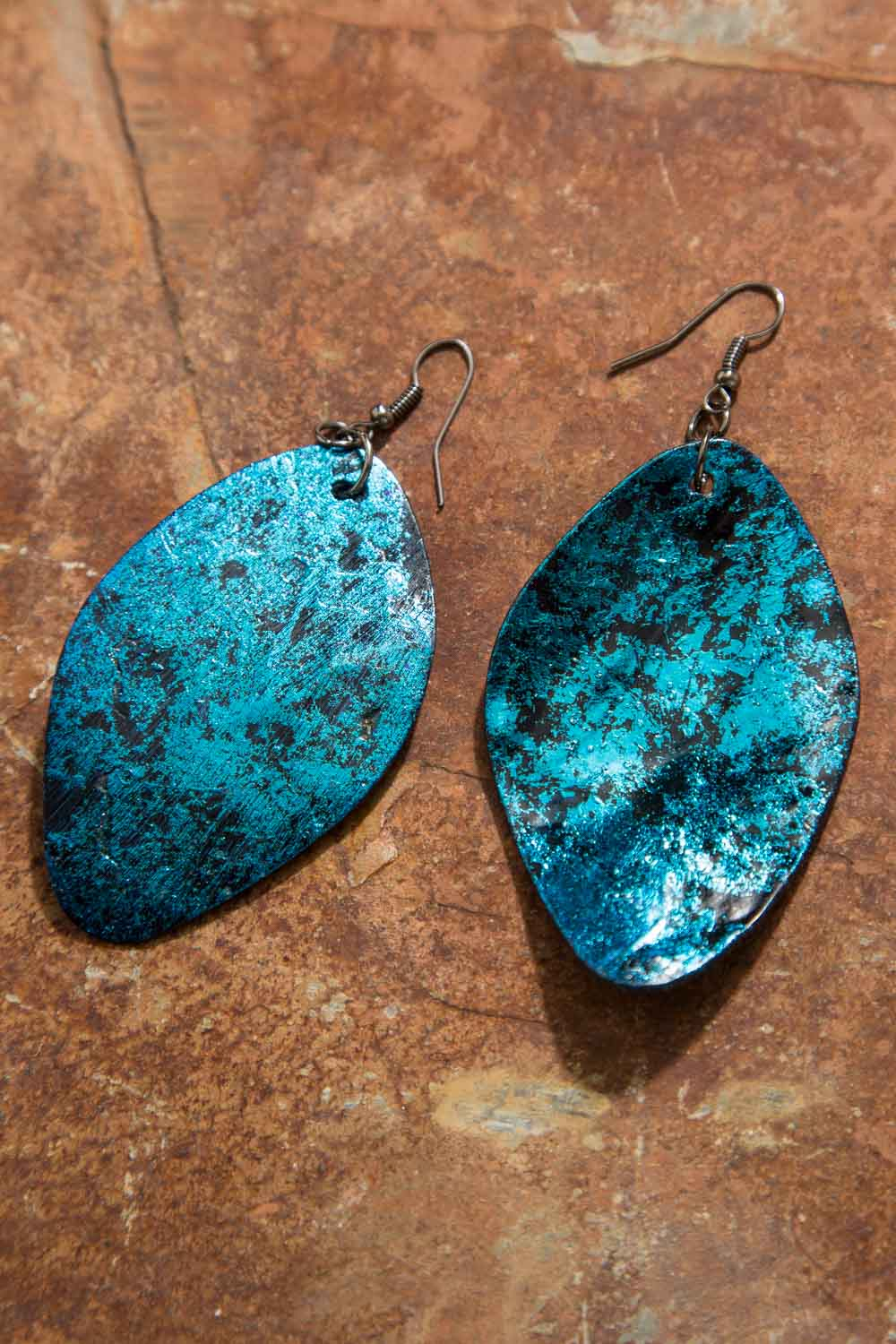 Type 3 Feel The Rush In Teal Earrings