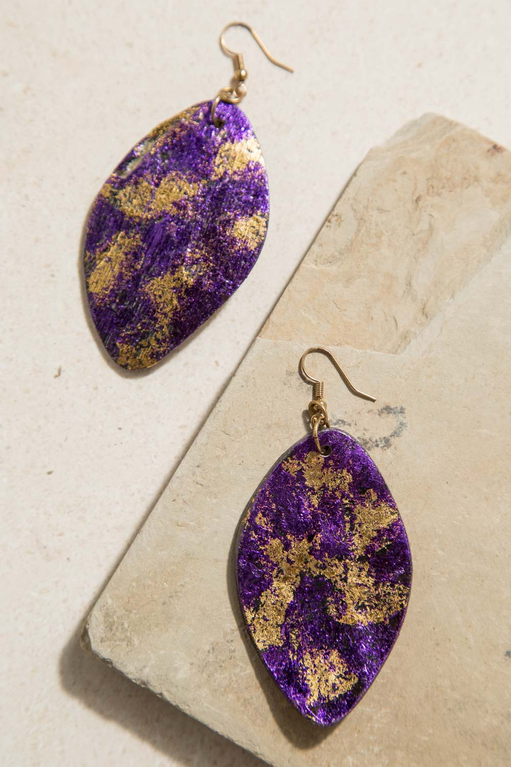 Type 3 Feel The Rush In Violet Earrings