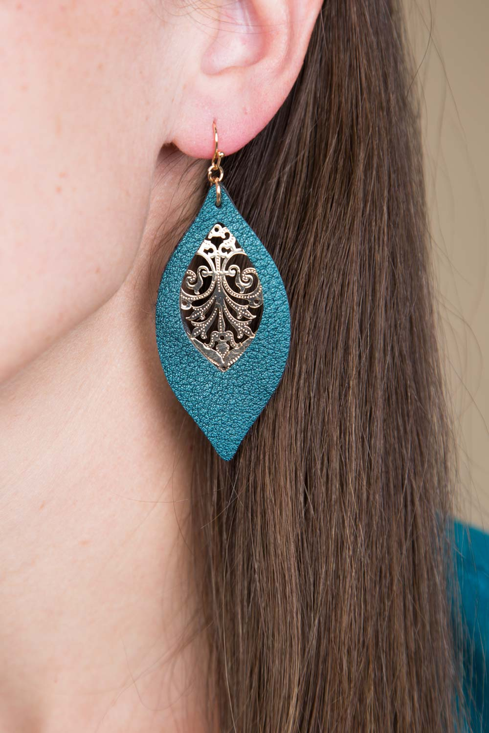 Type 3 Teal Me I Can! Earrings