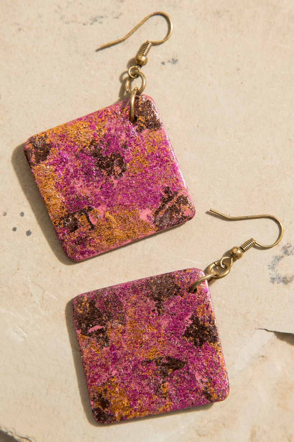Type 3 Titian Tiles Earrings