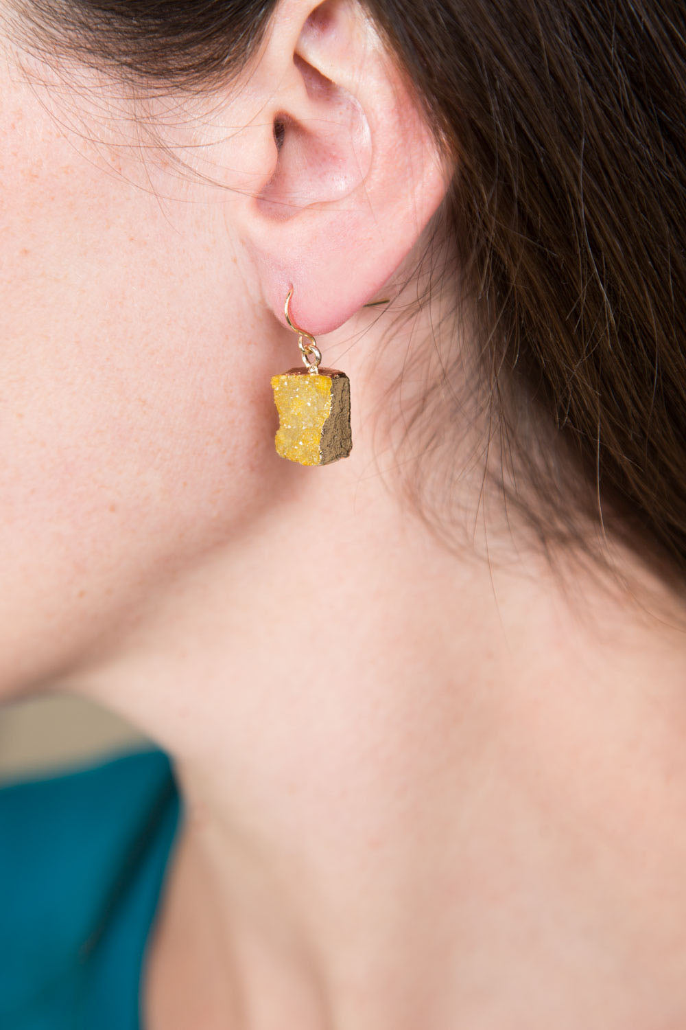 Type 3 Verdant Ore Earrings