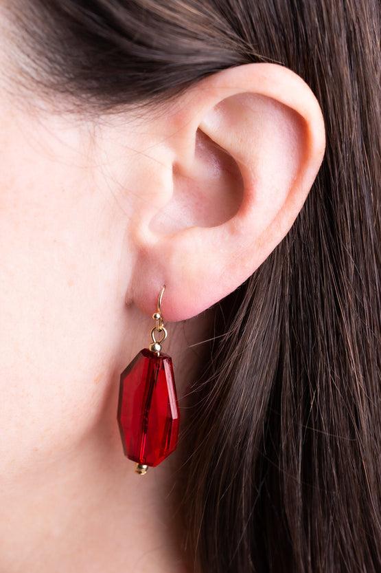 Type 3 Ruby Rich Earrings