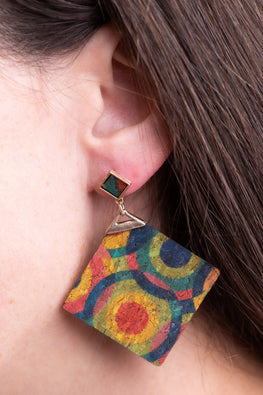 Type 3 Art Exhibit Earrings